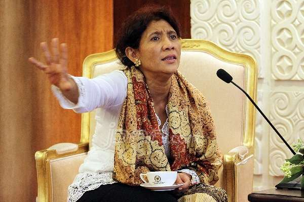 Menteri KKP Susi Pudjiastuti (IST)