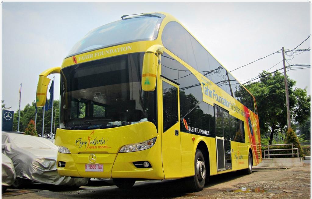 Bus Tingkat karya Nusantara Gemilang (Dok Ekky Himawan Rinaldy )