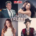 Anggun dan ketiga juri lainnya di Asia's Got Talent 2015 / © Anggun Instagram