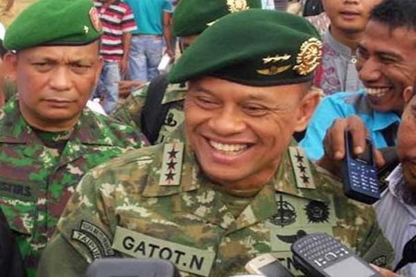 Letjen (TNI) Gatot Nurmantyo, KSAD baru pengganti Jenderal (TNI) Budiman (Foto : Istimewa)