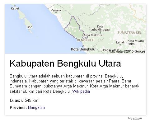 Gempa Guncang Bengkulu Utara berkekuatan 6,1 SR