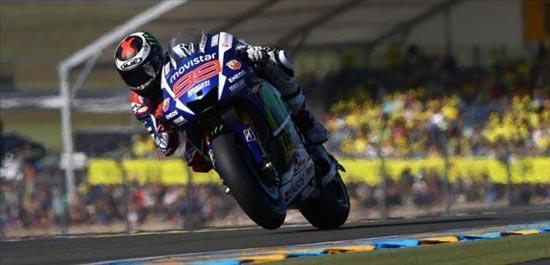 Jorge Lorenzo MotoGP Le Mans 2015