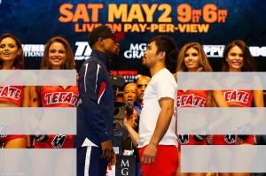 Wanita ring di antara Manny Pacquaio vs Mayweather