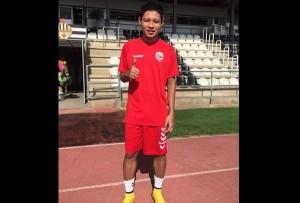 Evan Dimas- Foto:  Twitter @uellagostera