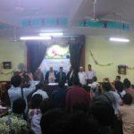 Mahmudi Muchson dalam sidang disertasi doktor (Dok NU Mesir)