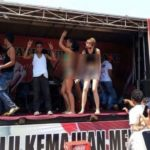 Bule bikini di kampanye pasangan yang diusung PDIP (IST)