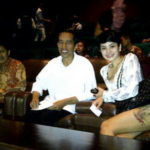 Presiden Jokowi dan Nikita Mirzani (IST)