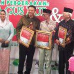 Ahok penerima Gus Dur Award (IST)