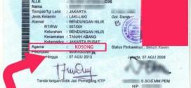 Kosongkan Kolom Agama di KTP, Rezim Jokowi Menuju Sekuler
