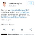 Fadjroel Rachman diam saja (IST)