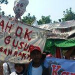 Demo penggusuran yang dilakukan Ahok (Ist)