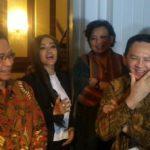 Ahok bersama beberapa artis (IST)