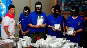 Penangkapan bandar narkoba (IST)