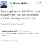 Twitter Ulil Abshar Abdalla (IST)