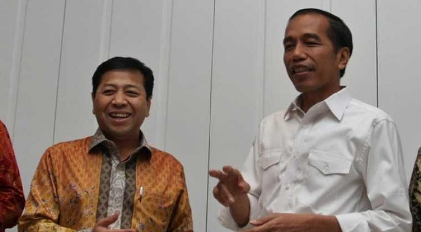 Setya Novanto dan Jokowi (IST)