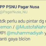 Kicauan Pagar Nusa NU (IST)