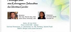 Adakan Seminar LGBT, Upaya Pengalihan Kasus Dana Reklamasi ke TemanAhok