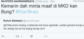 Ruhut Sebut Aktivis Muhammadiyah Anjing Comberan