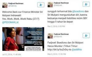 Pernyataan Fadjroel Rachman (IST)