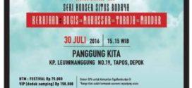 Iwan Fals & Band Gelar Konser Situs Budaya Kerajaan 30 Juli 2016