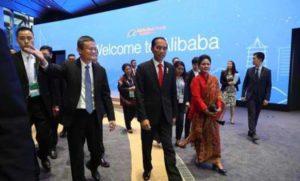 Jack Ma dan Presiden Jokowi (IST)