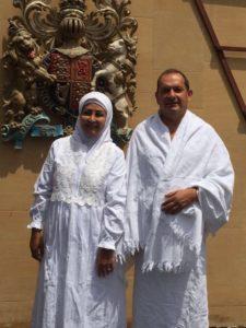 Simon Collis dan istrinya (IST)