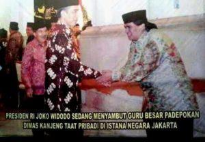 Jokowi dan Dimas Kanjeng (IST)