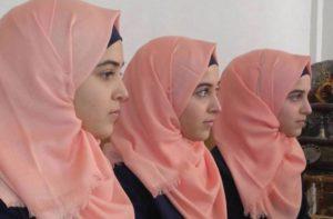 Tiga mahasiswi kembar Palestina: Israa, Alaa dan Doha (MEMO
