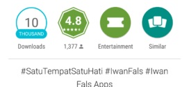 Iwan Fals Luncurkan Aplikasi Iwan Fals Apps