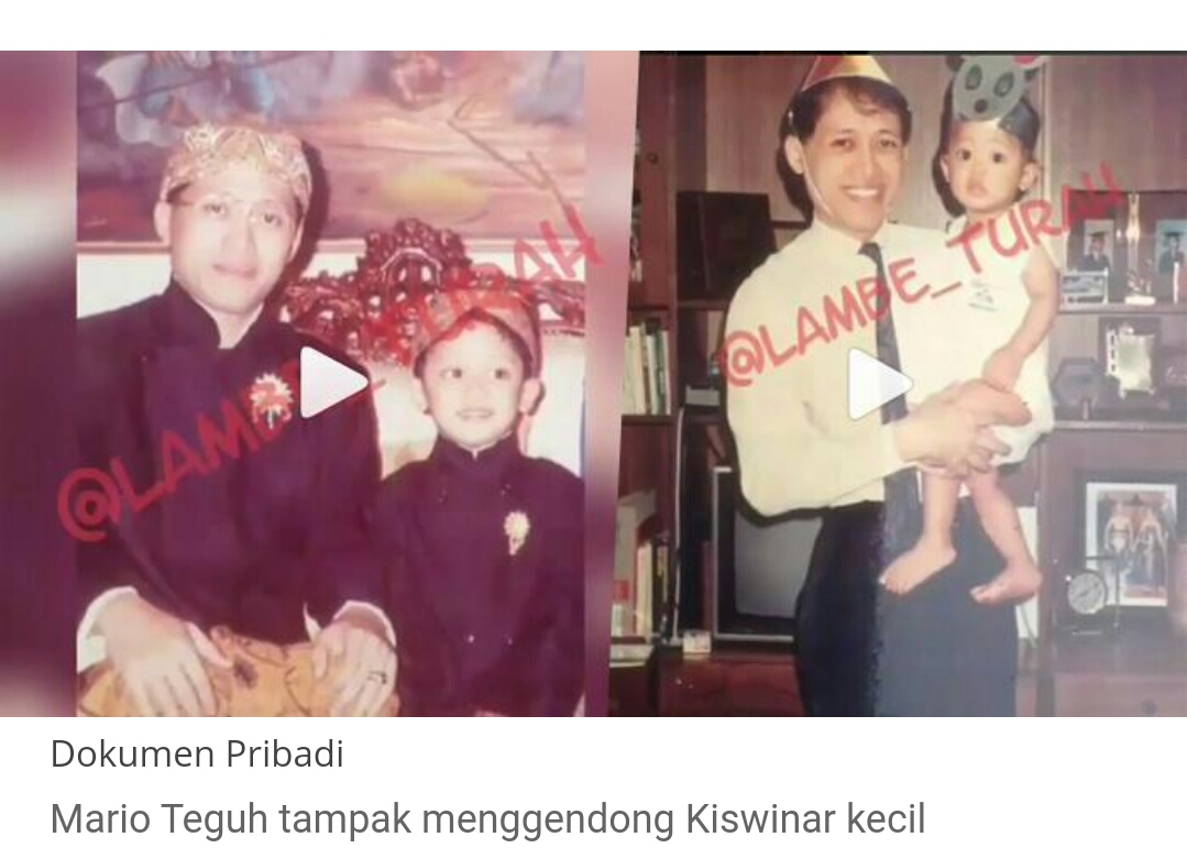 Mario Teguh dan Ariyo Kiswinar Teguh