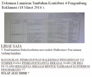 Dokumen CSR (IST)