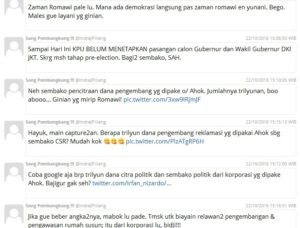 Pernyataan Indra J Piliang (IST)