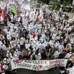Demo meminta Ahok diadili dalam kasus penistaan terhadap Al Quran (IST)