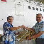 Serah Terima Pesawat Lion Air Grup-TNI AU (IST)