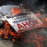 Demo minta Ahok ditangkap karena telah menistakan agama Islam (IST)