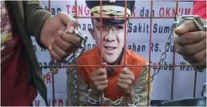 Demo minta Ahok masuk penjara (IST)