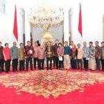 Presiden Jokowi bertemu para Pemred (IST)