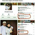 Pemilik akun Facebook Rinaldi Surya (IST)