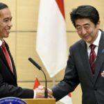 Presiden Jokowi dan Perdana Menteri Jepang Shinzo Abe (IST)