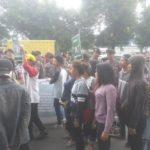 Santri Abal-abal demo di PBNU (IST)