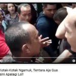 Iwan Bopeng ancam tentara (IST)