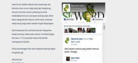 Tak Penjarakan Pemilik Situs Hoax Seword, Polisi Tebang Pilih