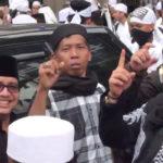 Kiwil bersama umat Islam saat aksi bela Islam (IST)