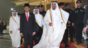 Presiden Jokowi dan Raja Salman (IST)