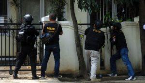 Penyergapan terduga teroris bom panci di Bandung (IST)