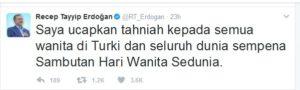 Twitter Presiden Turki Recep Tayyip Erdogan (IST)