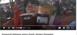 Ini Dia Video Ahoker Kepergok Sebarkan Selebaran Fitnah Anies-Sandi