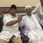 Prabowo dan Habib Rizieq (IST)