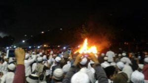 Teror terhadap Habib Rizieq dan jamah (IST)
