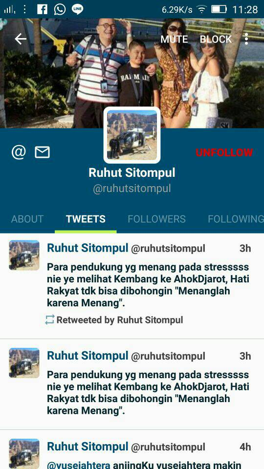 Twitter Ruhut Sitompul